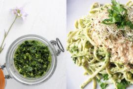 little-idea-pesto-ail-des-ours-vegan-simple-rapide